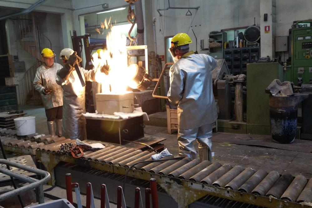 Fusion d'un alliage intermétallique fer-aluminium à la fonderie expérimentale de CTIF