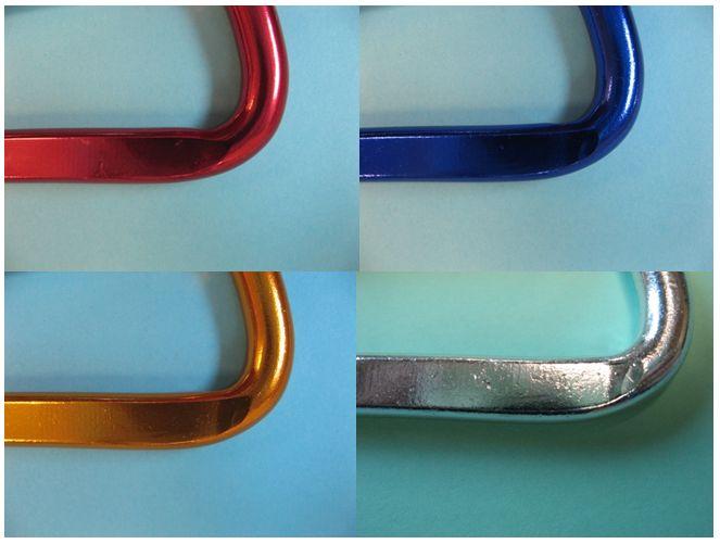 Finitions par anodisation de pièces en alliage d'aluminium - palette des couleurs possibles Crédit photo CTIF.