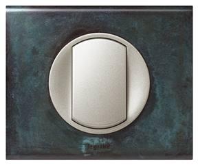 Interrupteur en alliage de zinc moulé Zamak.