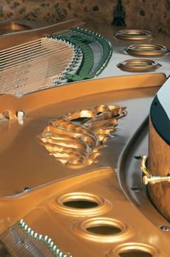 Piano à queue Pleyel.