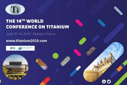 Congres mondial du titane - Nantes - Juin 2019