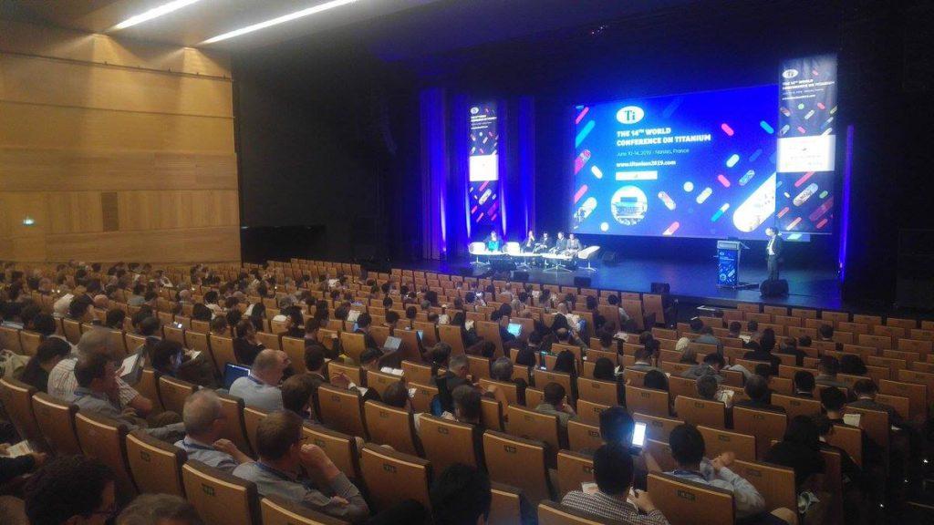 conférences congres mondial du titane