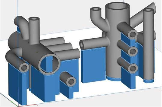 Besoin en supports pièce en procédé SLM.
