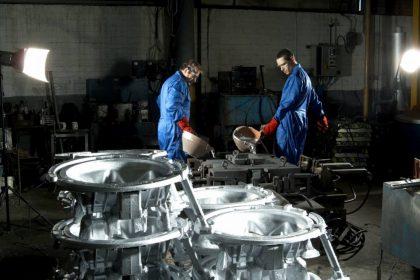 Moulage coquille aluminium grande pièce - importance de maitriser usure poteyage.