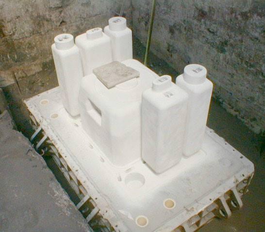 Les différents procédés de moulage - Moulage par le procédé Alphaset - acier G20Mn6 - source Tamaris Industries.