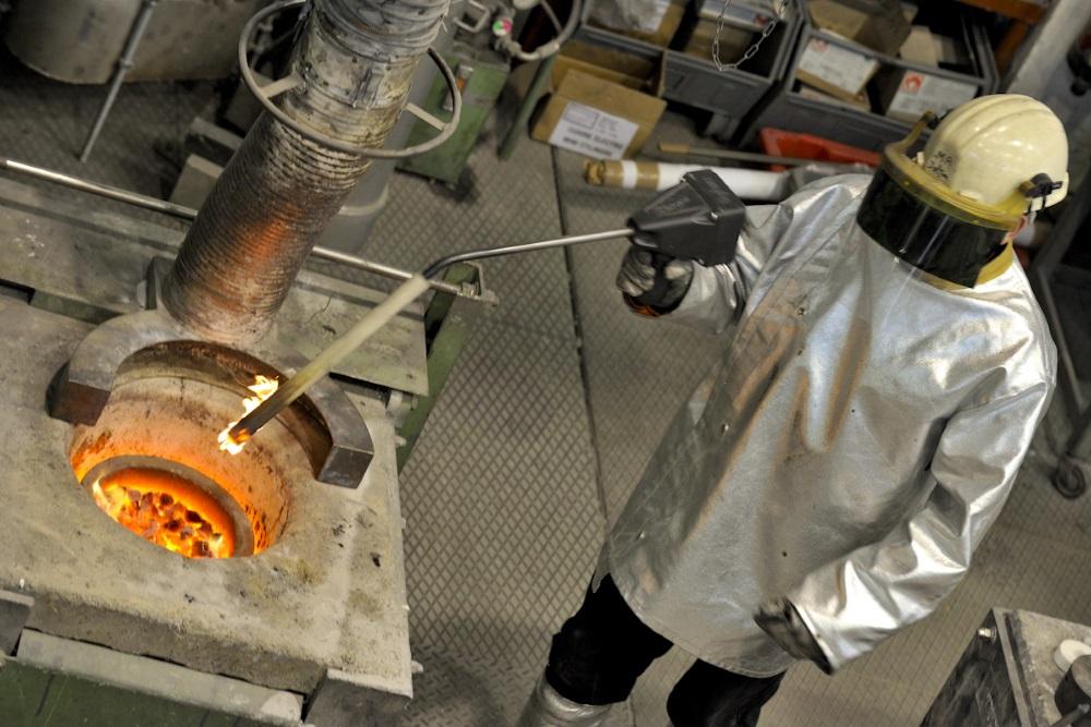 Réalisation de prototypes en nouvelles métallurgie au CTIF.