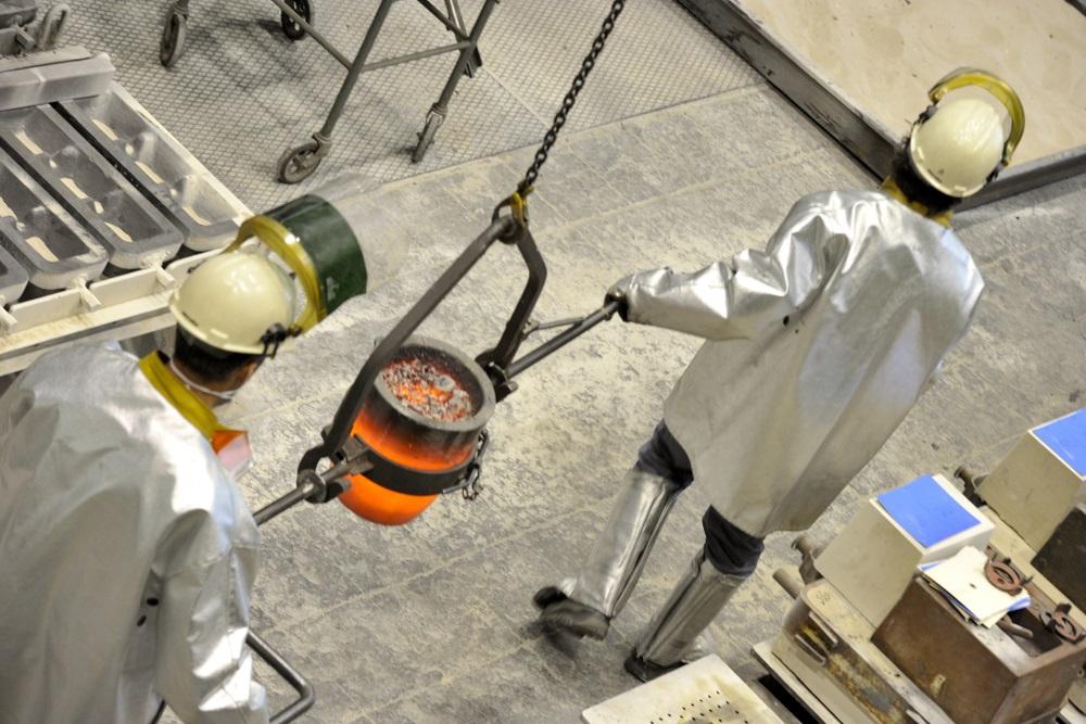 la fonderie expérimentale de CTIF au service de la R&D.