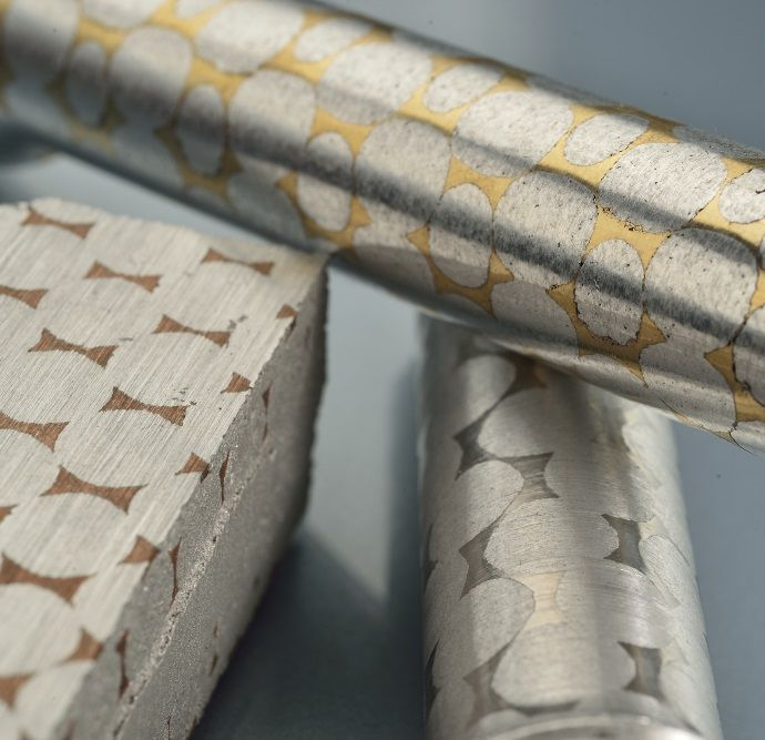 Bi-matériau cuivre aluminium et acier aluminium par voie de fonderie.
