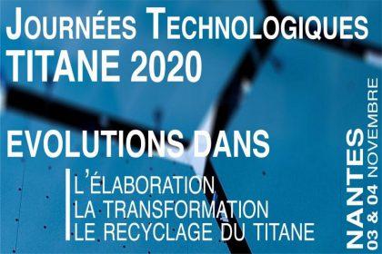 Journées technologiques titane 2020.