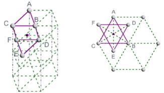 Alliages de titane - Site interstitiel octéadrique dans la maille HC.