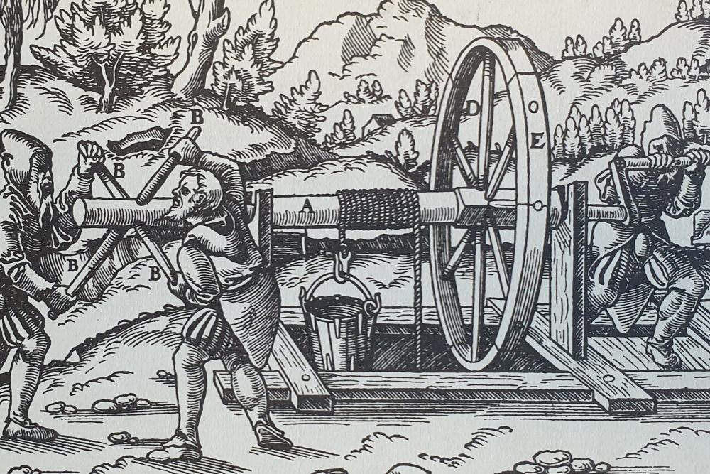 De Re Metallica - Georgius Agricola - la bible de la métallurgie en 1556.