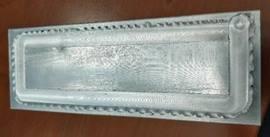 Figure 8 - plaque froide après soudage FSW.
