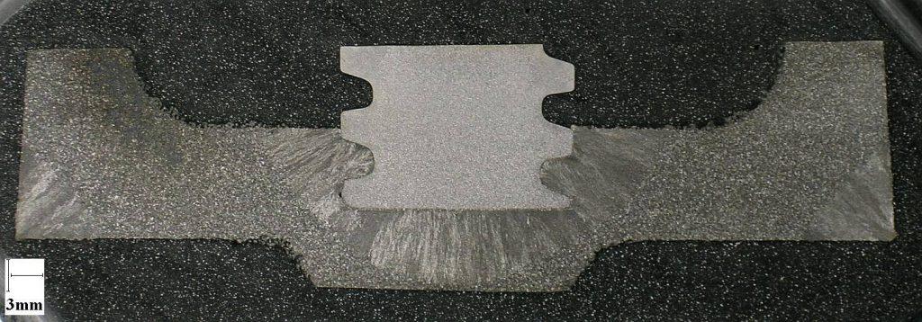 Zone d'insertion sur pièce industrielle.