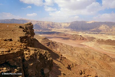 La vallée de Timna.