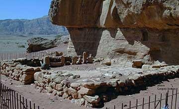Les mines de cuivre de Timna.