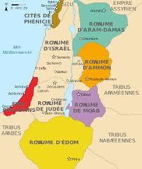 Royaume d'Edom au sud du royaume d'Israël.