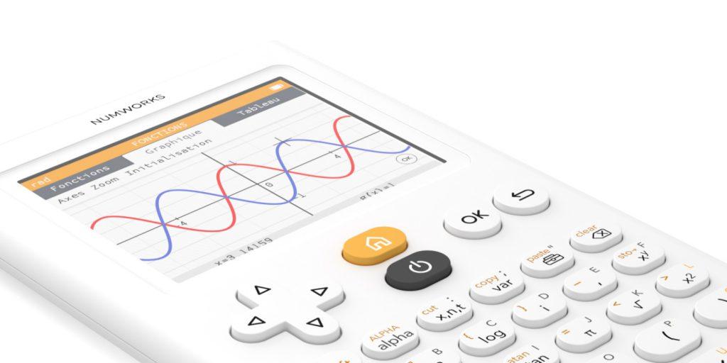 Calculette graphique NumWorks programmable en Python.