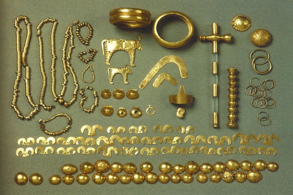 Le trésor en or de Varna - 5000 ans avant notre ère.
