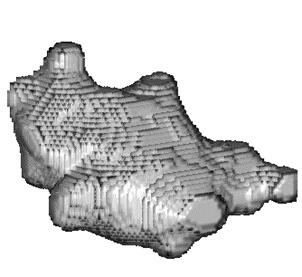 Reconstruction en 3 dimensions d'un défaut de retassure cavité.